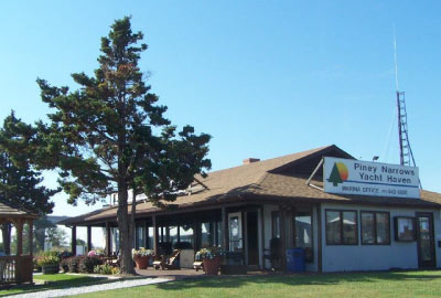 piney narrows marina club house